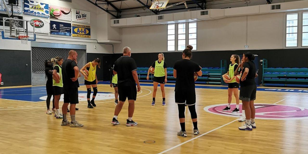 Le Roannais Basket Féminin a repris le chemin de l'entraînement