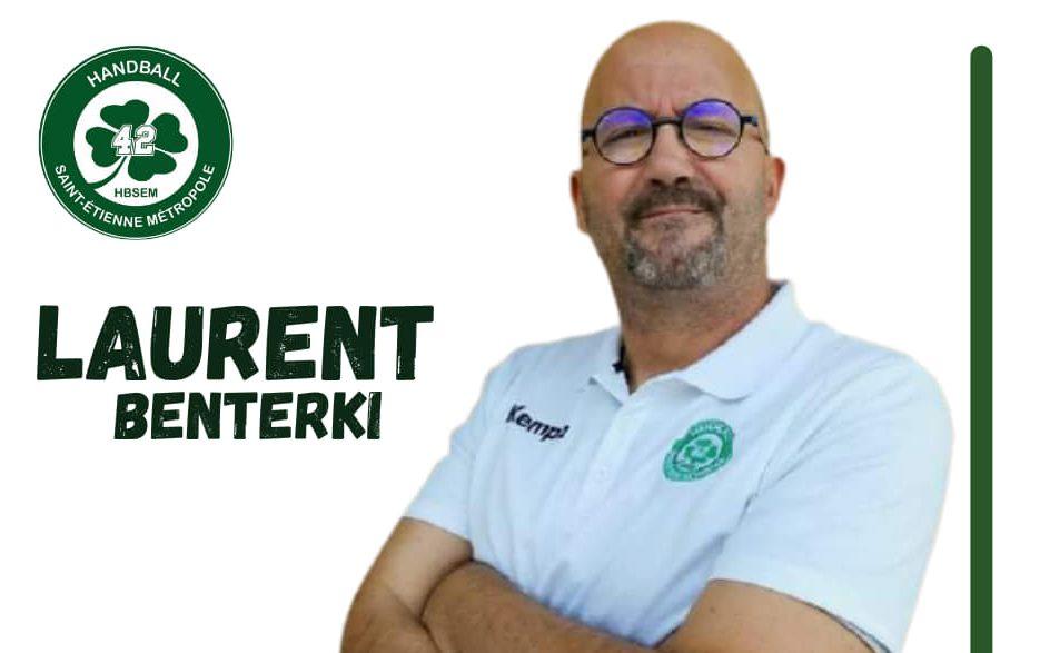 """Laurent Benterki (Handball St-Etienne Métropole 42) : """"Notre ambition c'est la montée en National 1"""""""