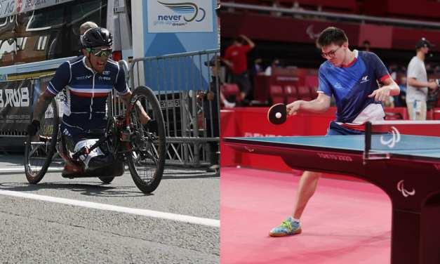 Loïc Vergnaud entre en lice demain en handbike, Clément Berthier vise la médaille en équipe