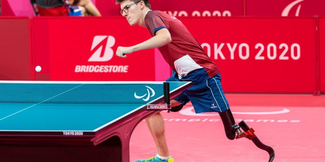 Clément Berthier en demi-finale par équipes aux Jeux Paralympiques