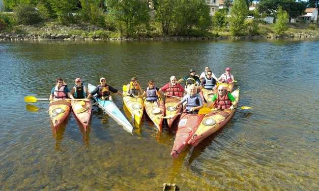 Tour des Clubs de la Loire : La Base de Loisirs Loire Forez, pour faire du kayak sur la Loire