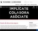 España Plataforma X La Honestidad Screenshot 162x