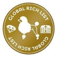Global Rich List Coin Button