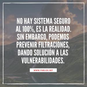 Servicios Parlox: Seguridad Informática (hacking)