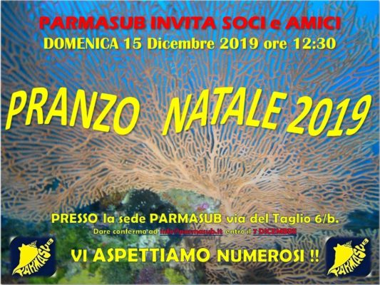 PRANZO NATALE PARMASUB 2019