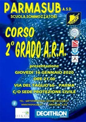 Corso ARA 2° GRADO