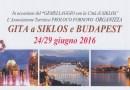Gita a Siklos gemellata con Fornovo e Budapest, con complesso Bandistico Fornovese
