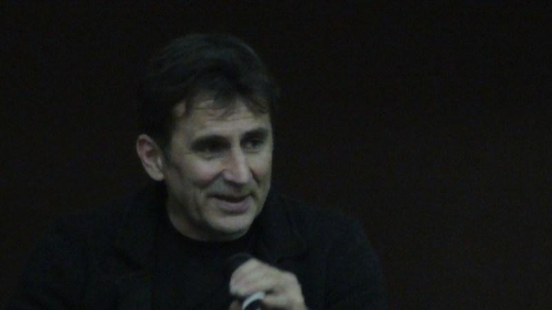 Alex Zanardi sul palco