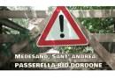 Medesano, Sant'Andrea. la passerella sul Dordone riaprirà anche grazie agli stipendi di Sindaco ed assessori