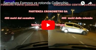 Il semaforo di Fornovo è davvero un problema?    Semaforo Fornovo vs rotonda Collecchio
