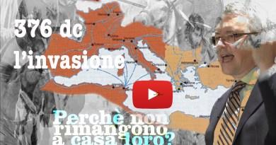 376 dc l'invasione barbarica di A.Barbero Collecchio Perché non rimangono a casa loro?