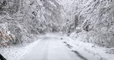 30 cm di neve a Venezia. Ma siamo in Val Noveglia non in laguna