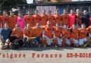 Folgore Fornovo debutto vincente al Comunale A. Tanzi