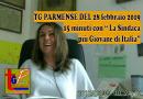 15 minuti con Valentina Pontremoli sindaco di Bardi. TG Parmense del 28 febbraio 2019