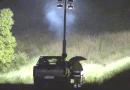 """FORNOVO. Notte sotto la pioggia per la Protezione Civile. Torna a muoversi la frana  a  """"La Salita""""."""