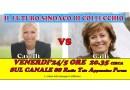Il confronto TV  tra i candidati per COLLECCHIO? Venerdì sera 24 maggio ore 20.35 e 21.45 circa CANALE  88