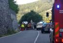Incidente stradale tra  Valmozzola Stazione e il casello dell'autostrada di Borgotaro