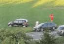 Incidente lungo via del Giardinetto a Collecchio.