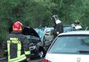 Incidente stradale lungo la fondovalle Taro