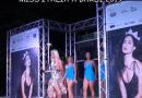 """Miss Italia a Bardi.  Mara Boccacci canta """" Amore e Capoeira"""". Come coreografia le miss in competizione."""