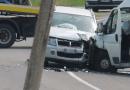 Scontro tra furgone e SUV in val Ceno
