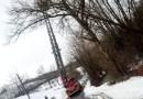 Varano Melegari, Vigili del Fuoco in azione lungo la strada del Boccolo