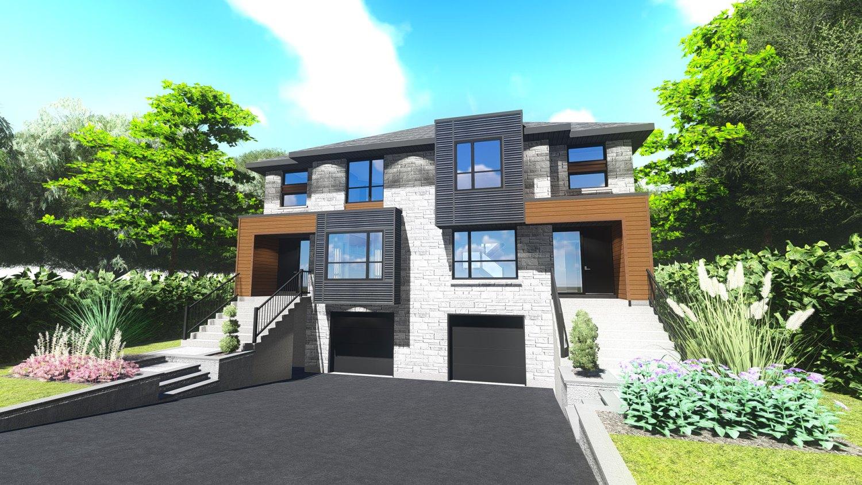 Maison contemporaine le St-Martin avec garage