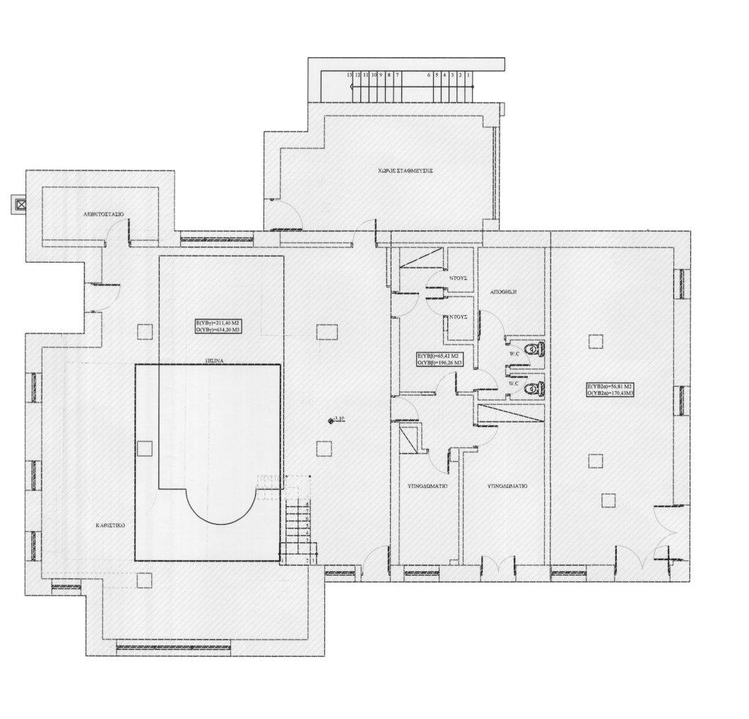 floor plans parnassos luxury villa