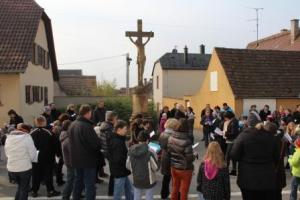 La marche des croix en avril 2013