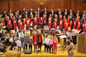 Concert de Noël des chorales du doyenné