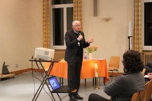 Monseigneur Ravel à la rencontre des paroissiens de la zone pastorale à Schwindratzheim