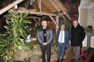 Visite pastorale de Monseigneur Ravel à Wingersheim et Hohatzenheim