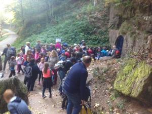 Sortie au Mont Ste Odile avec les enfants