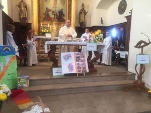 Messe en chemin en novembre à Minversheim