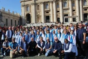 Voyage des servants d'autel à Rome