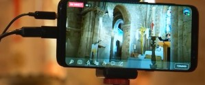 Messe @ Eglise (70 personnes) et grande salle par vidéo (40 personnes)
