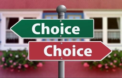 scegliere