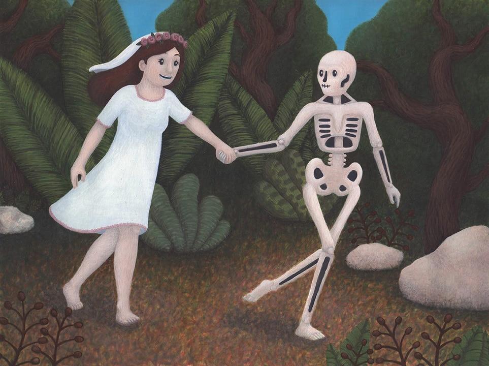 Michela Blasina - Lo scheletro innamorato
