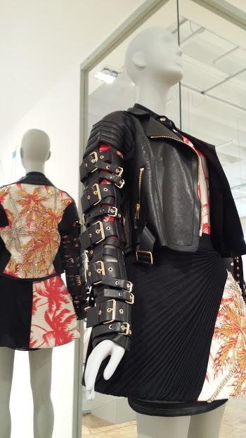 cfdda17b2809 ... kidassia FAUSTO PUGLISI – SS14 Jacket, skirt, shirt: Crepe, combed  wool, leather