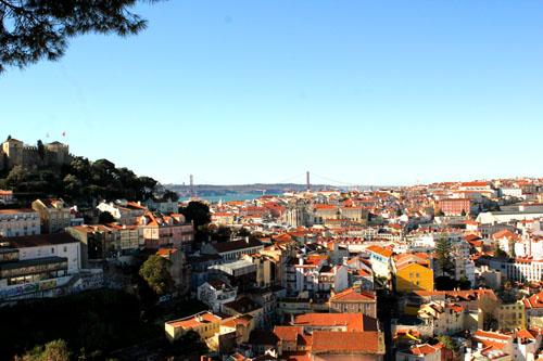 Lisbona - Miradouro