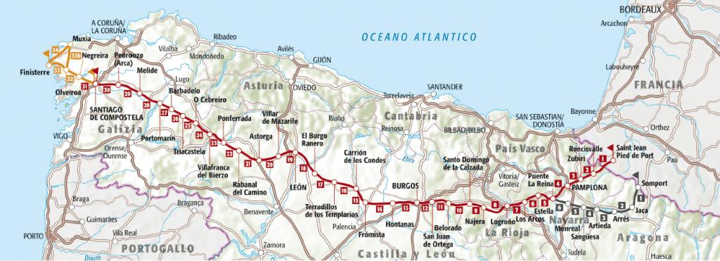 Cammino di Santiago - Il Cammino Francese