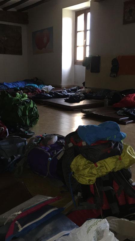 Dove dormire sul Cammino di Santiago - Albergue di Grañón