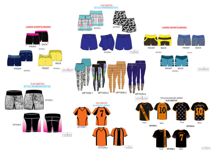 Concept to Customer - activewear-collection