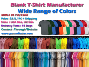 T-Shirt Manufacturer – Specialized Manufacturer in Knitwear and Blanks