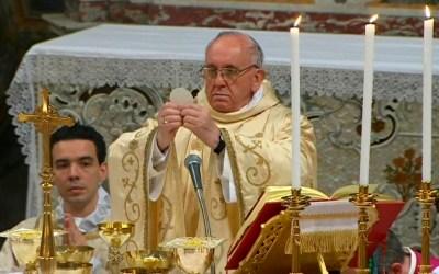 A liturgia segundo o Papa Francisco