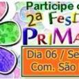 Neste sábado, 6 de setembro, a partir das 18h acontecerá a Festa da Primavera na comunidade São Marcos, venha e participe.