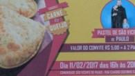 Está ocorrendo neste momento uma pastelada na Comunidade São Vicente de Paulo, dois pastéis por R$ 5,00. Os pastéis serão vendidos até as 20h