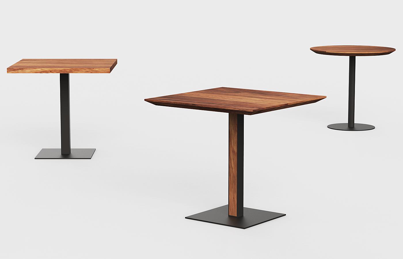 Mesas para Bar  PAROTAS  Muebles de Parota  CDMX