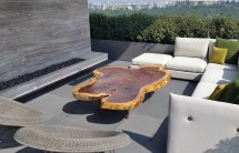 Parota Wood Outdoor Furniture High-quality Modern Design