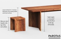 List of Standard Table & Chair Heights   How to Calculate ...